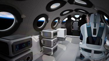 Virgin Galactic показала интерьер кабины туристического космоплана