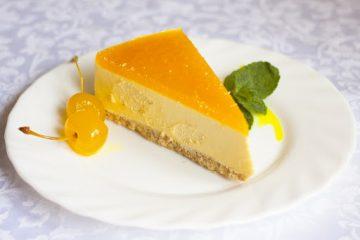 Елизавета Глинская поделилась рецептом вкуснейшего чизкейка с манго и маракуйей