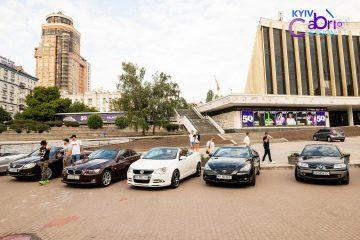 100 кабриолетов и дискотека: в Киеве впервые состоялся фестиваль KYIV CABRIO SESSION