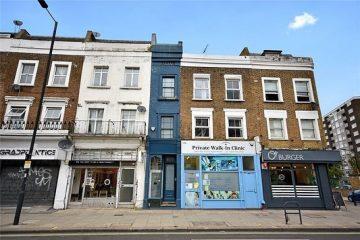 В Лондоне продают самый узкий дом в городе
