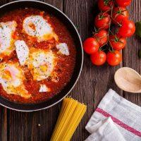 Рецепт арабской яичницы от Валика Михиенко