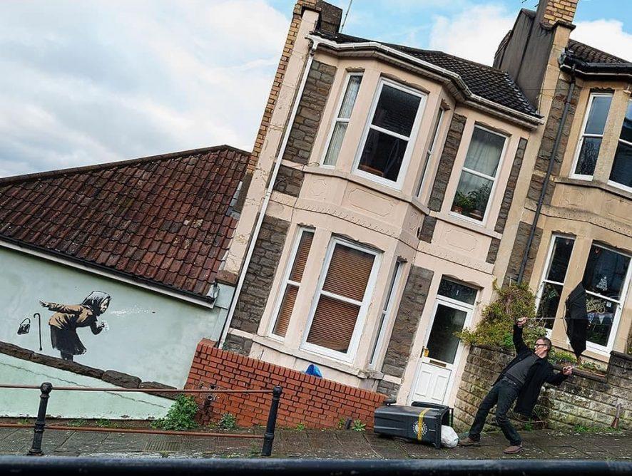 Граффити от Бэнкси увеличило стоимость дома в Бристоле
