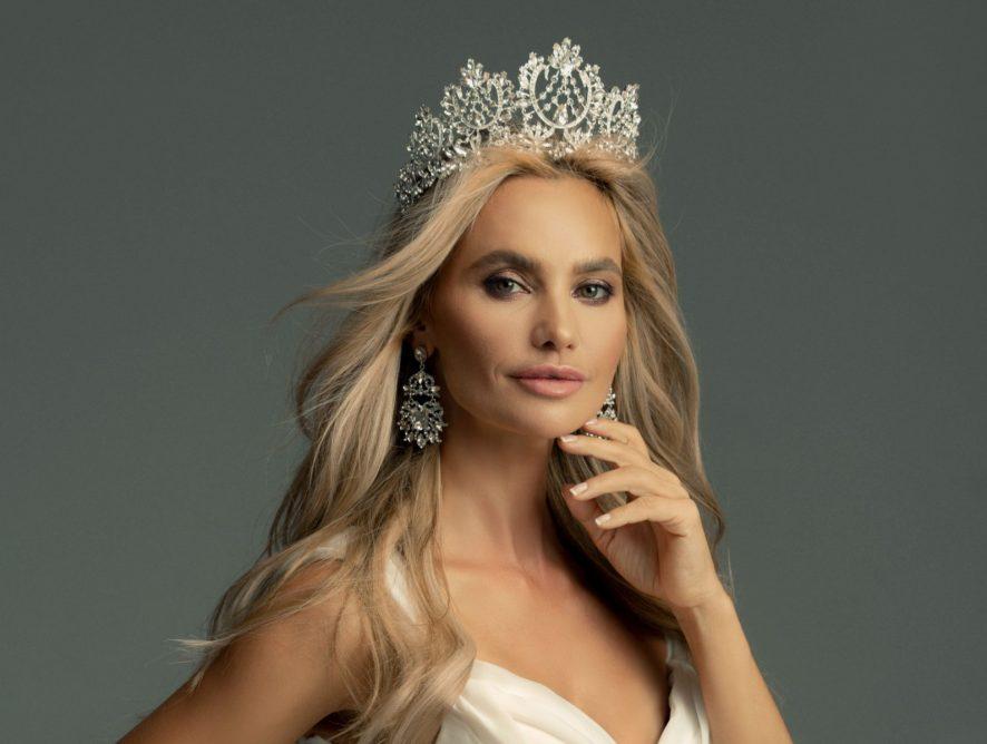 Украинская модель Виктория Любухина заняла первое место на конкурсе Миссис Вселенная