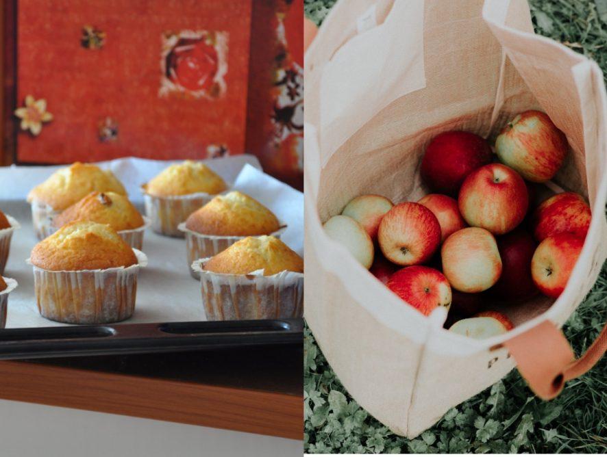 Рождественские блюда: маффины от Прохорова и печеные яблоки от Русланы