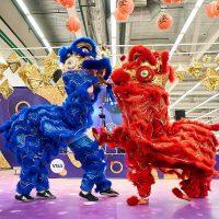 Шоу левів та гра на тибетських чашах: на Даринку відсвяткують китайський Новий рік