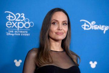 Строгий дрес-код: Анджеліна Джолі у атласній спідниці прибула в Білий Дім