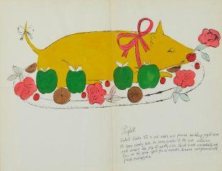 Кулінарну книгу Енді Воргола виставлять на продаж