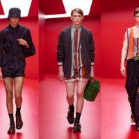 Махрові речі, шорти-спідниця і відкриті силуети: PRADA презентували колекцію весна-літо 2022