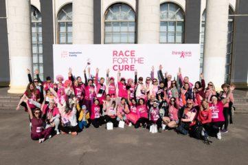 Марічка Падалко взяла участь у благодійному забігу на підтримку жінок з раком грудей