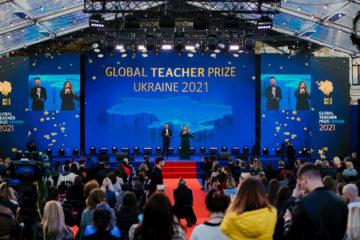 """Наталія Мосейчук """"віддала своє серце"""" двом особливим вчителям на Global Teacher Prize Ukraine"""
